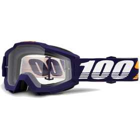 100% Accuri Anti Fog Clear Gafas enduro, grib